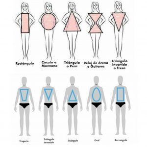 Morfología Corporal. Tipología de siluetas femeninas y masculinas
